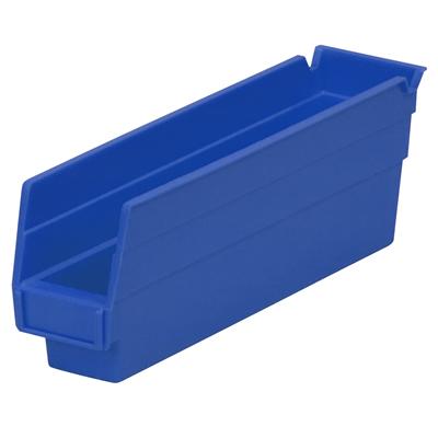 """11-5/8"""" L x 2-3/4"""" W x 4"""" H Blue Akro-Mils® Shelf Bin"""