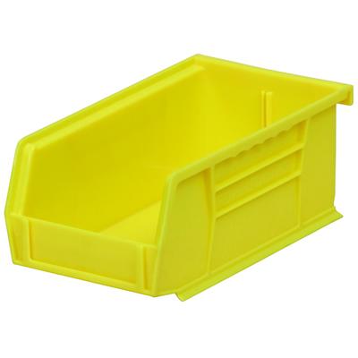 """7-3/8"""" L x 4-1/8"""" W x 3"""" Hgt. OD Yellow Storage Bin"""