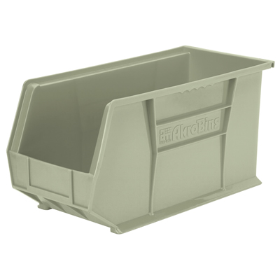 "18""L x 8-1/4""W x 9""H OD Stone Storage Bin *Not designed for hanging systems."