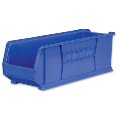 """23-7/8"""" L x 16-1/2"""" W x 11"""" Hgt. OD Blue Super-Size AkroBins®"""