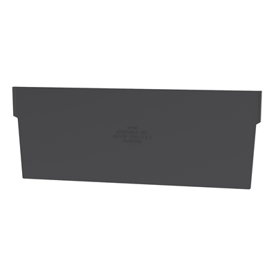 "Black Dividers for 8-3/8""W x 4""H Akro-Mils® Shelf Bins"