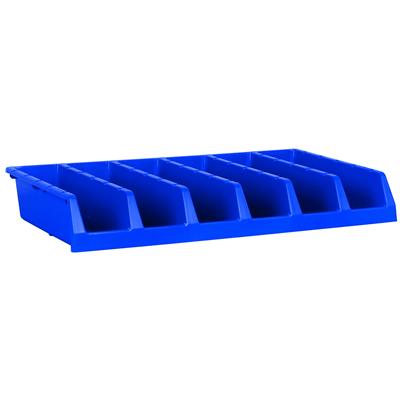 "Blue 18"" System Bin 33""W x 5""H"