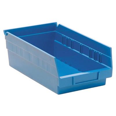 "Blue Quantum® Economy Shelf Bin - 11-5/8"" L x 6-5/8"" W x 4"" Hgt."