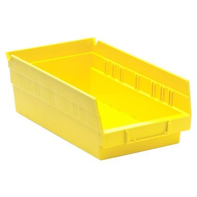 Yellow Quantum® Economy Shelf Bin - 11-5/8