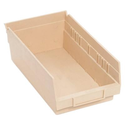Ivory Quantum® Economy Shelf Bin - 11-5/8