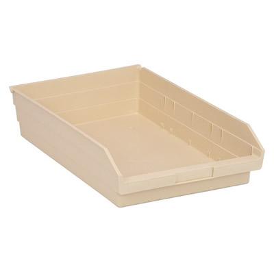 """Ivory Quantum® Economy Shelf Bin - 17-7/8"""" L x 11-1/8"""" W x 4"""" Hgt."""