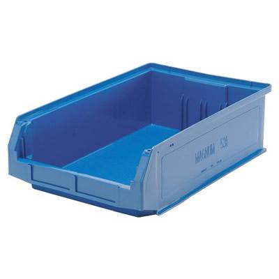 """19-3/4""""L x 12-3/8""""W x 5-7/8""""H Blue Quantum® Magnum Storage Bin"""