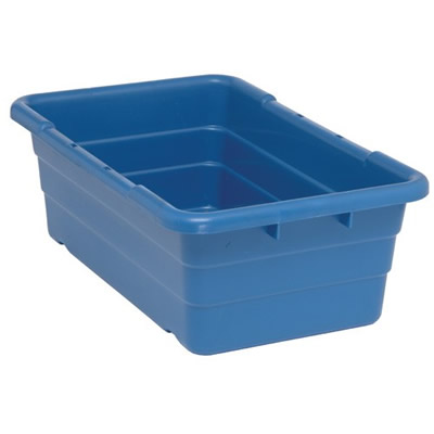 Blue Quantum 174 Cross Stack Tub U S Plastic Corp