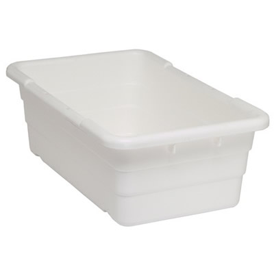 White Quantum® Cross Stack Tub