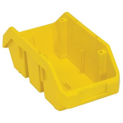 """12-1/2""""L x 6-5/8""""W x 5""""H Yellow QuickPick Double Sided Bin"""