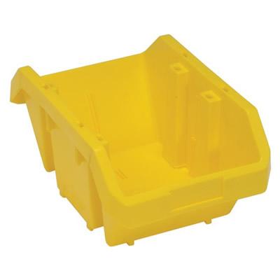 """14""""L x 9-1/4""""W x 6-1/2""""H Yellow QuickPick Double Sided Bin"""