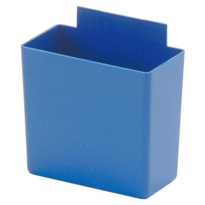 """3-1/4"""" L x 1-3/4"""" W x 3"""" Hgt. Small Blue Bin Cup"""