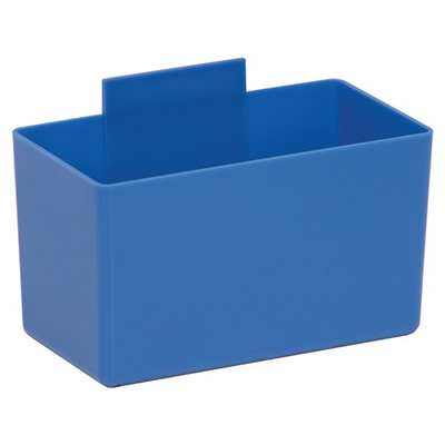 "5-1/4"" L x 2-3/4"" W x 3"" Hgt. Large Blue Bin Cup"