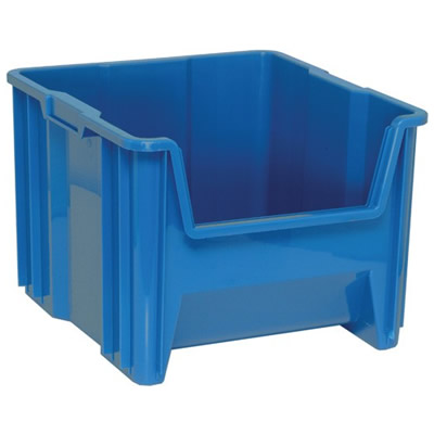 """17-1/2""""L x 16-1/2""""W x 12-1/2""""H Blue Quantum® Giant Stack Container"""