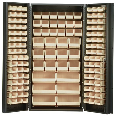 """Ivory Quantum® Heavy Duty 36"""" Wide Cabinet"""