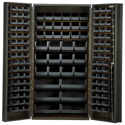 "Black Quantum® Heavy Duty 36"" Wide Cabinet"
