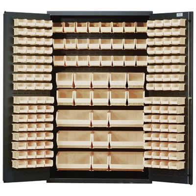"""Ivory Quantum® Heavy Duty 48"""" Wide Cabinet"""