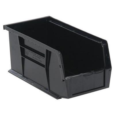 "Black Quantum® Ultra Series Stack & Hang Bin - 10-7/8"" L x 5-1/2"" W x 5"" Hgt."
