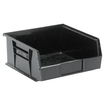 "Black Quantum® Ultra Series Stack & Hang Bin - 10-7/8"" L x 11"" W x 5"" Hgt."