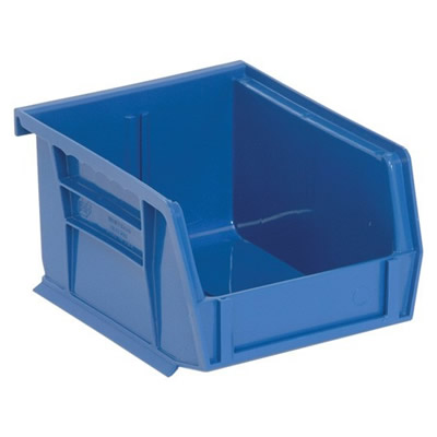 "Blue Quantum® Ultra Series Stack & Hang Bin - 5"" L x 4-1/8"" W x 3"" Hgt."
