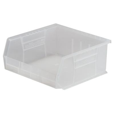 "10-7/8""L x 11""W x 5""H OD Clear Storage Bin"