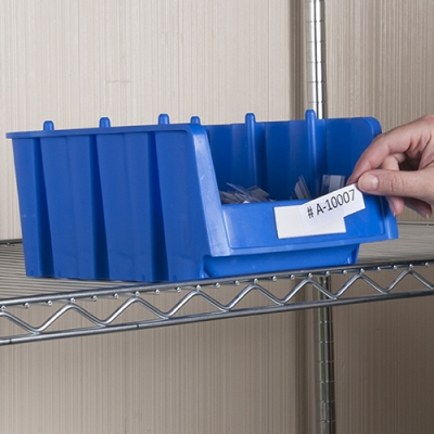 "2"" x 4"" Bin•Buddy™ Label Holders"