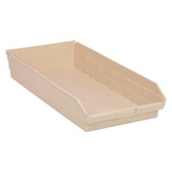 """Ivory Quantum® Economy Shelf Bin - 23-5/8"""" L x 11-1/8"""" W x 4"""" Hgt."""