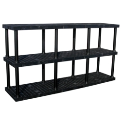 "3 Level Dura-Shelf® 51"" H x 96"" W x 24"" L"