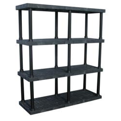 "4 Level Dura-Shelf® 75"" H x  66"" W x 24"" L"