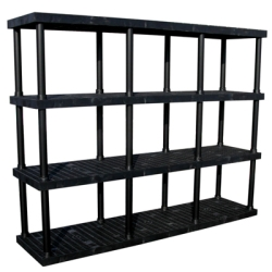 "4 Level Dura-Shelf® 75"" H x  96"" W x 24"" L"