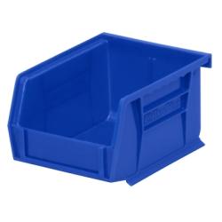 """5-3/8"""" L x 4-1/8"""" W x 3"""" Hgt. OD Blue Storage Bin"""
