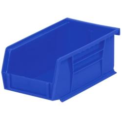 """7-3/8"""" L x 4-1/8"""" W x 3"""" Hgt. OD Blue Storage Bin"""