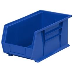 "14-3/4""L x 8-1/4""W x 7""H OD Blue Storage Bin"