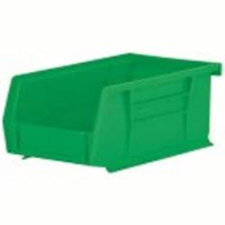 "7-3/8"" L x 4-1/8"" W x 3"" Hgt. OD Green Storage Bin"