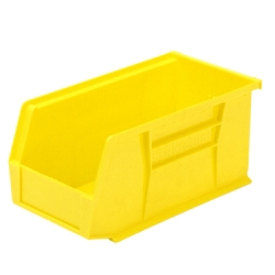 "10-7/8"" L x 5-1/2"" W x 5"" Hgt. OD Yellow Storage Bin"