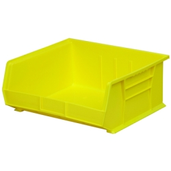 "14-3/4"" L x 16-1/2"" W x 7"" Hgt. OD Yellow Storage Bin"