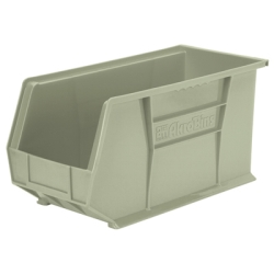"18"" L x 8-1/4"" W x 9"" Hgt. OD Stone Storage Bin *Not designed for hanging systems."