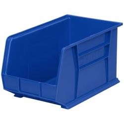 """18"""" L x 11"""" W x 10"""" Hgt. OD Blue Storage Bin"""