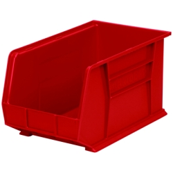 "18"" L x 11"" W x 10"" Hgt. OD Red Storage Bin"