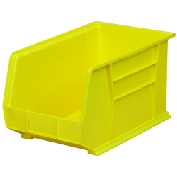 "18""L x 11""W x 10""H OD Yellow Storage Bin"