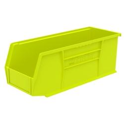 "10-7/8""L x 4-1/8""W x 4""H OD Yellow Storage Bin"