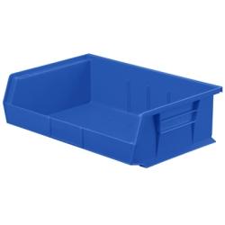 "10-7/8""L x 16-1/2""W x 5""H OD Blue Storage Bin"