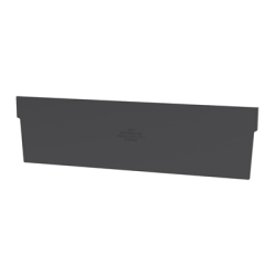 "Black Dividers for 11-1/8""W x 4""H Akro-Mils® Shelf Bin"