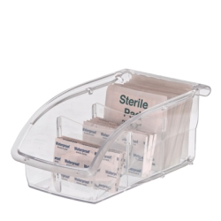"Akro-Mils® InSight™ Ultra-Clear Bin 7 3/8"" x 4 1/8"" x 3 1/4"""