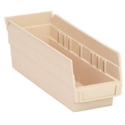 """Ivory Quantum® Economy Shelf Bin - 11-5/8"""" L x 4-1/8"""" W x 4"""" Hgt."""