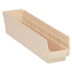 """Ivory Quantum® Economy Shelf Bin - 17-7/8"""" L x 4-1/8"""" W x 4"""" Hgt."""