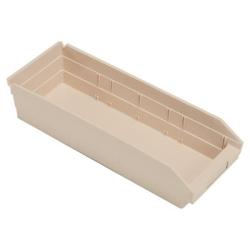 """Ivory Quantum® Economy Shelf Bin - 17-7/8"""" L x 6-5/8"""" W x 4"""" Hgt."""