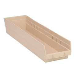 """Ivory Quantum® Economy Shelf Bin - 23-5/8"""" L x 6-5/8"""" W x 4"""" Hgt."""