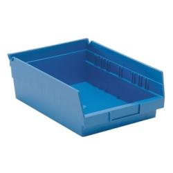 "Blue Quantum® Economy Shelf Bin - 11-5/8"" L x 8-3/8"" W x 4"" Hgt."