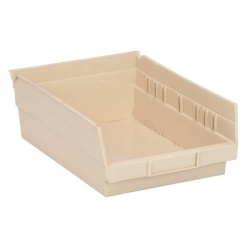 """Ivory Quantum® Economy Shelf Bin - 11-5/8"""" L x 8-3/8"""" W x 4"""" Hgt."""